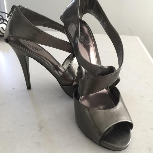 fashion good looking reasonable price Carlos Santana Shoes | Sexy Pewter Stilettos Grey Heels | Poshmark